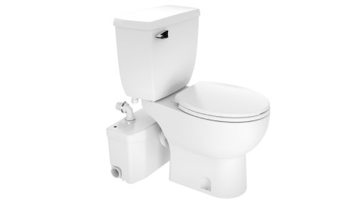 macerating upflush toilet kit