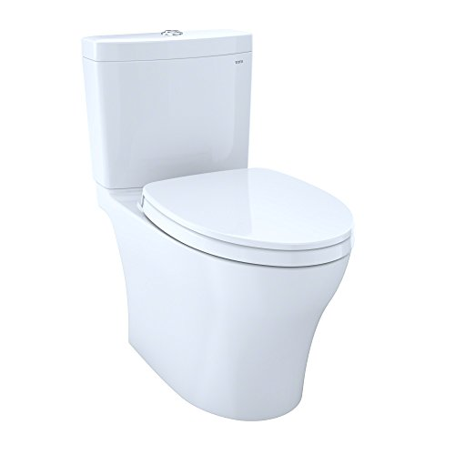 Toto Washlet dual flush toilets