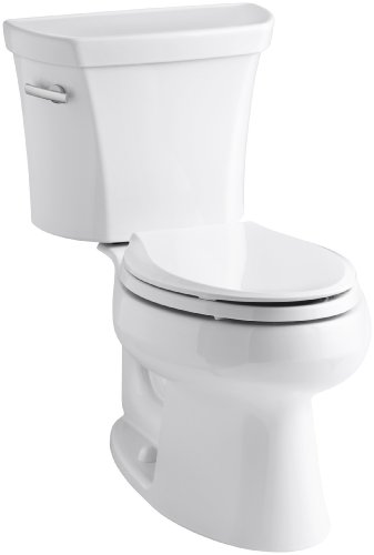 kohler wellworth elongated comfort height toilet