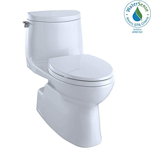 toto carlyle ii one-piece high-efficiency toilet