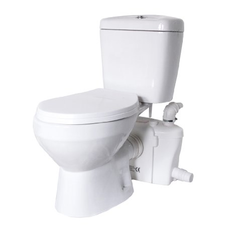 Lift Assure American Round Macerating Pump toilet