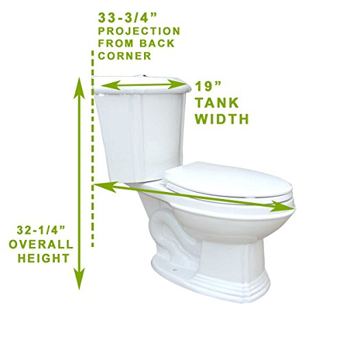 Renovator's Supply Space Saving Triangle Toilet