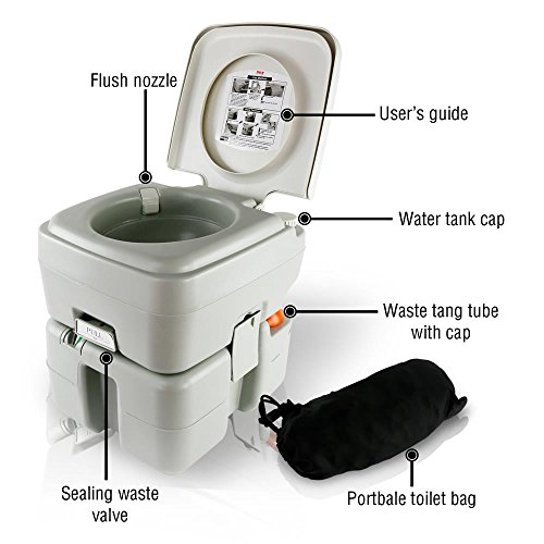 SereneLife Portable Porta Potty