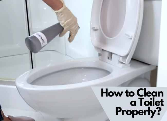 How to Clean a Toilet Properly