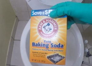 How to get rid of toilet ring