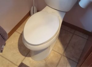 Why does my toilet smell like urine?